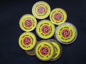 Munt Stickers