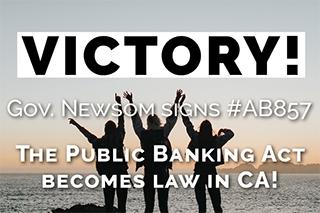 Public Banking Act California